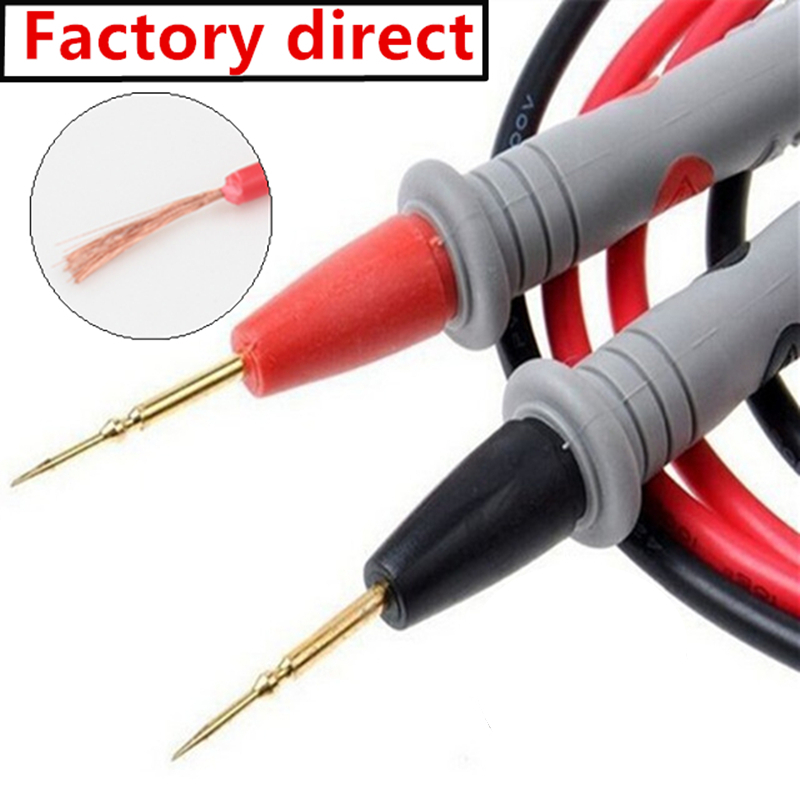 Plomo De Prueba Kit De Multimetro Fluke Tester Cables Juego De Sondas De Plat...