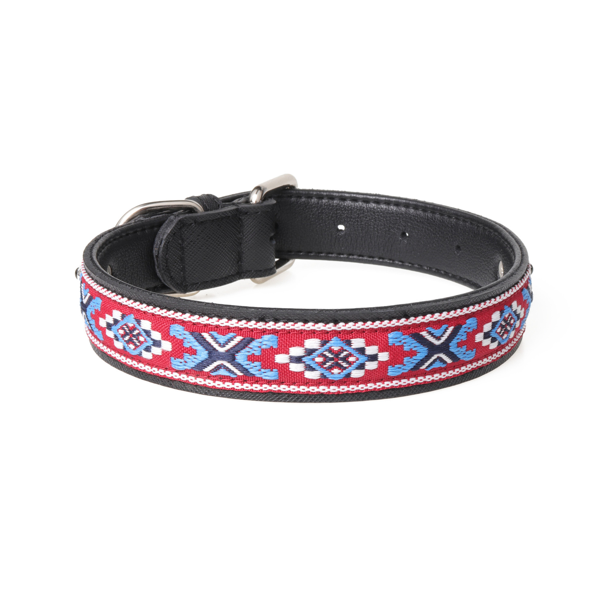 Amin Lattice New Products Cross Border For Genuine Leather Pet Collar Large Dogs Neck Ring Manufacturers Direct Selling