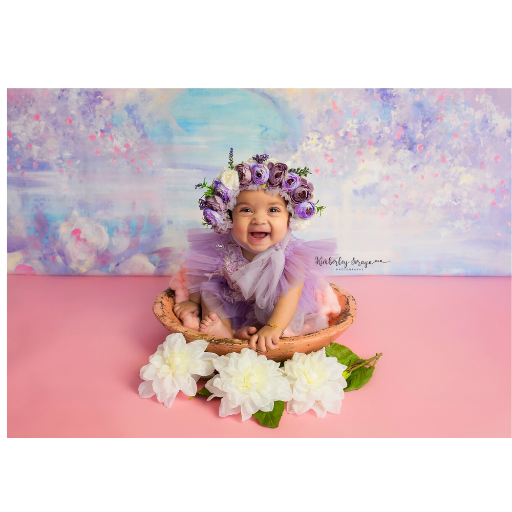 Don&Judy New Arrival 3pcs/set Fabrics Backdrop + Newborn & Sitter Bonnet Cap + Wrap Photography Prop Accessories Photo Shoot