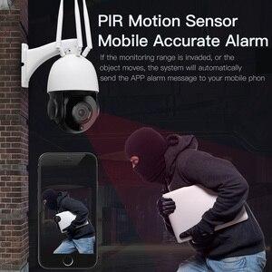 Image 3 - 30X Optische Zoom Home Wifi Security Camera 1080P Hd Draadloze 3G 4G Sim kaart Speed Dome Cctv ip Camera Outdoor Surveillance Cam