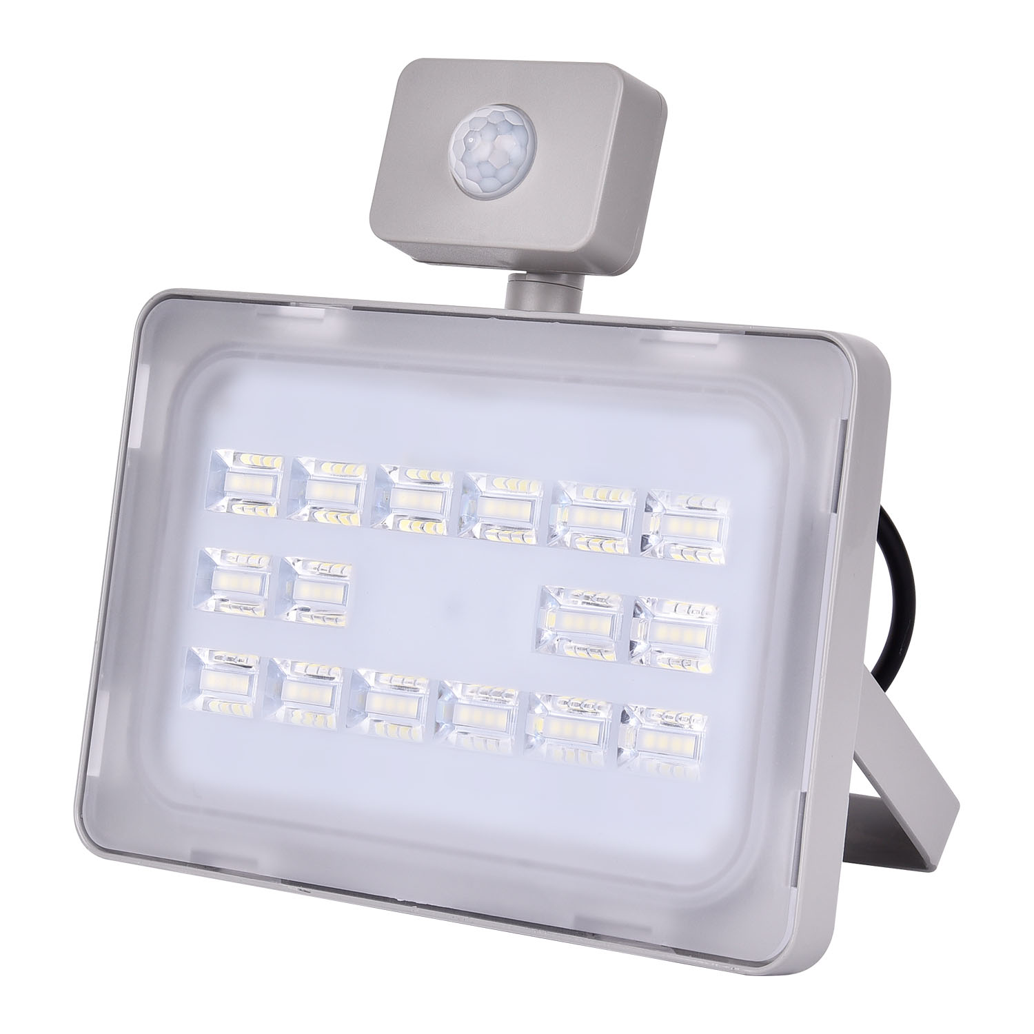 2017 PIR bevægelsessensor Induktion LED Flood Light 50W 220V Udendørs Led Floodlight Refletor LED Spotlight Udendørs belysning
