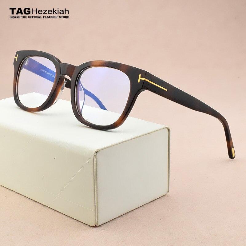 Brand Glasses Frame Women Spectacle Frames Men Myopia Prescription Optical Glasses Frame Eye Glasses Frames For Women TF5542-B
