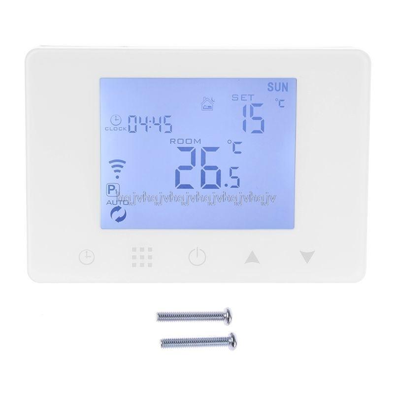 WiFi Room Thermostat Gas Boiler Wall-mounted Heating Wireless Remote Temperature Controller For Alexa Google Home 110V 220V S05