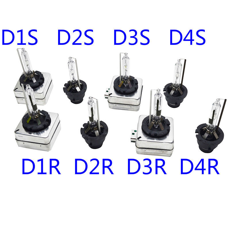 2PCS 12V 35W D1S DS1 D2S DS2 D3S D4S HID Xenon Bulb 4300K 6000K 8000K Car