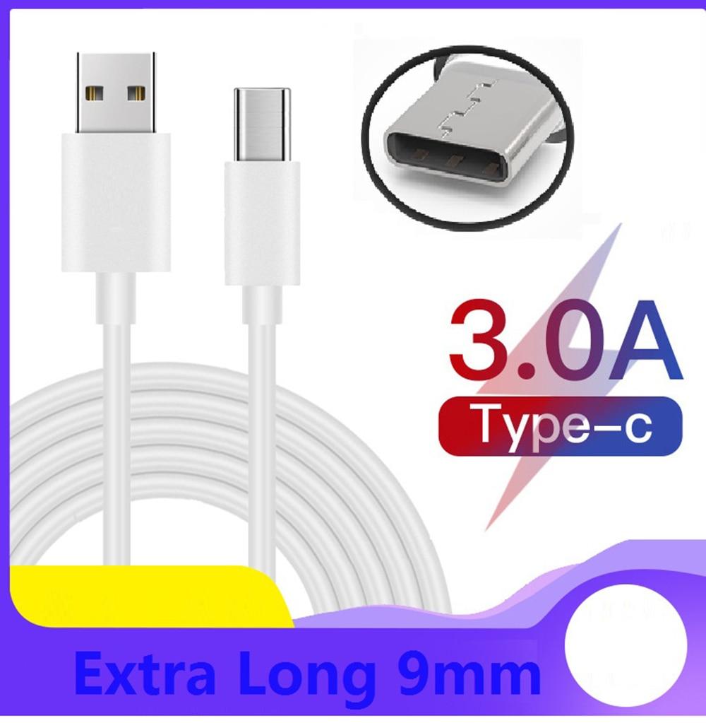 Cable Usb-Type-c Fast Charging Cabel for Blackview BV9100 BV9500 Plus P10000 BV9600 BV9500 BV9000 BV9700 BV9800 Pro(China)