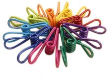 assorted colors steel wire…