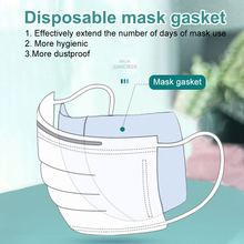 500 pcs Mask Respirator Filter Pads Disposable Antivirus Dust Smog Prevention Changeable Pads For Universal Mask Pads 50pcs mask replaceable filter pad disposable antivirus covid 19 smog prevention hot
