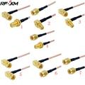 Кабель SMA штекер прямой соединитель кабель RG316 RF Перемычка pigtail папа к женскому правый угол RF коаксиальный