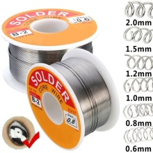 100G High Quality 0.6/0.8/1.0/1.2/1.5/2.0mm Rosin Core Solder 63/37 Tin Lead Line Welding Iron Wire Reel Home Gadget