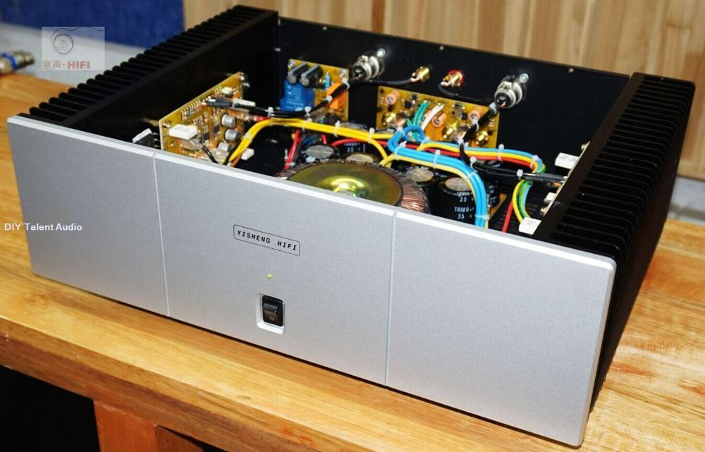 Single ended class A hifi PASS amplifier Pure post-stage power amplifier with Balanced input 30W+30W