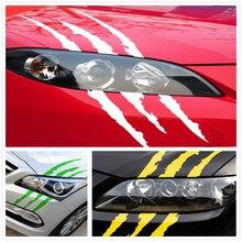 Auto Aufkleber Reflektierende Monster Scratch für BMW X7 X1 M760Li 740Le iX3 i3s i3 635d 120d 120i Beat Avalanche 34