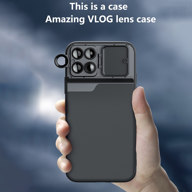 Mobile Phone Lens For iPhone 11 Pro Max Wide Angle Macro Fisheye Portrait Telephoto CPL Filter Len phone Case For iPhone 11 2019 image