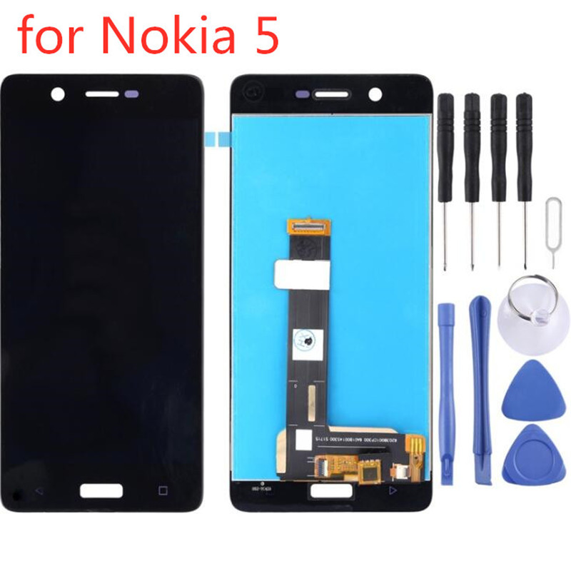 LCD Display Touch Screen Digitizer Assembly Repair Replacement for <font><b>Nokia</b></font> <font><b>5</b></font> TA-1024 TA-1027 TA-1044 TA-<font><b>1053</b></font> image