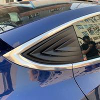 1 zestaw nadaje się do zmodyfikowanej tylnej szyby Tesla Model 3 19 nowy Model 3 żaluzja jasna dekoracja w Naklejki samochodowe od Samochody i motocykle na
