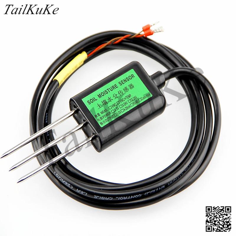 Automático de Irrigação do Solo Sensor de Umidade e Temperatura do Solo Sensor