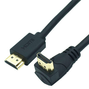 Image 5 - 4K*2K 60HZ HDMI 2.0 cable 90 degree Down & Up & Left & Right angled HDMI cable 2.0 3M 1.5M 1M 3D supported Up to 3840X2160/60HZ