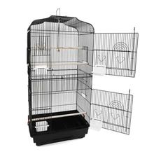 Big tall bird parrot cage canary parrot black