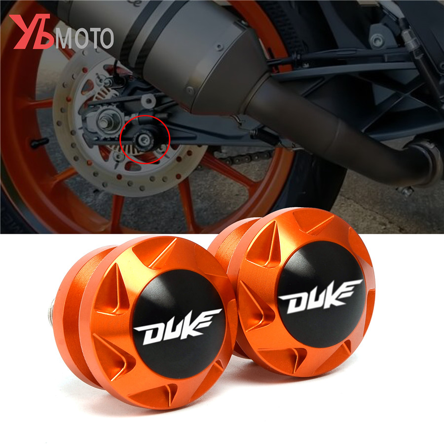 Высококачественные шпули CNC Swingarm, слайдер, винты для мотоцикла KTM Duke 390 duke390 2018 2019 2020