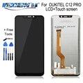 Для OUKITEL C12 PRO ЖК-дисплей + сенсорный экран 100% оригинальный протестированный ЖК-дигитайзер стеклянная панель Замена для OUKITEL C12 PRO