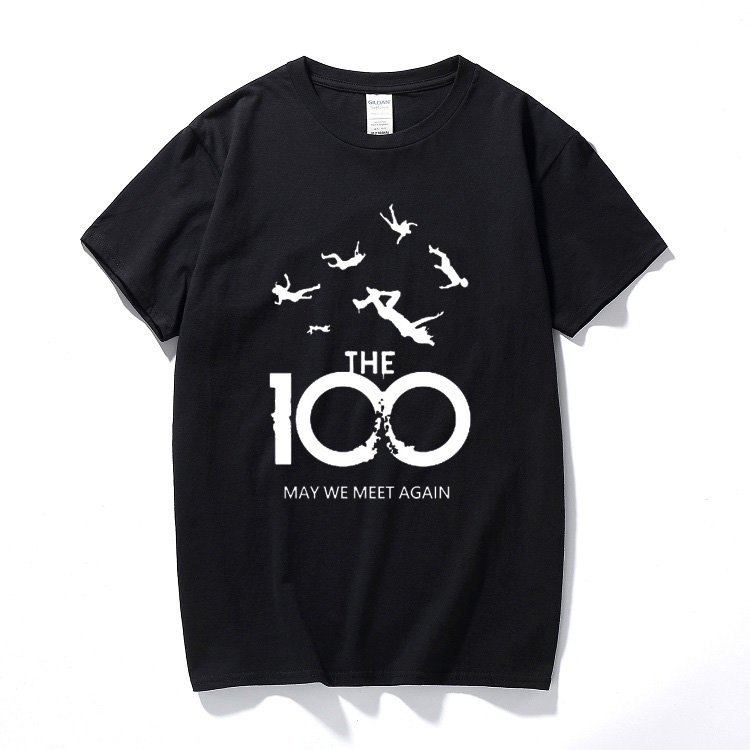 Summer Top Fashion T-shirt Men Women Unisex T Shirts 100 TV Show May We Meet Again Harajuku Cotton Casual Short Sleeve Tshirt