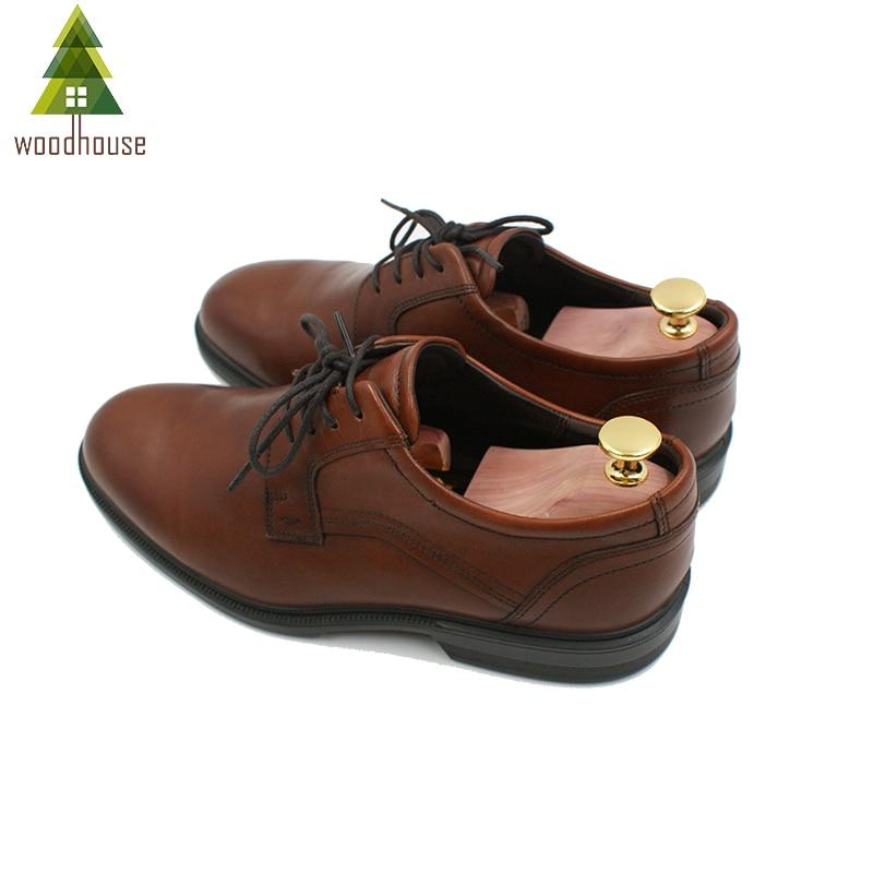 Image 4 - Woodhouse Mens and Womens Twin Tube Adjustable Red Cedar Shoe Tree Wood Shoe TreeShoe Trees