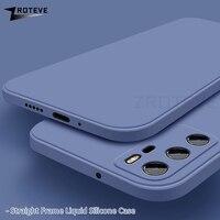 Zroteve-Funda de silicona líquida para móvil, carcasa suave para Huawei P40 Lite, P20, P30 Pro Plus, Mate 30 Pro, 20X, 20 X Lite, P40