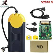 Mais recente versão v2018.3 ferramenta de diagnóstico actia multi-diag multi diag acesso j2534 interface dispositivo obd2 multidiag j2534 em estoque
