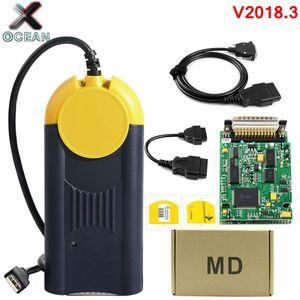 Newest Version V2018.3 Diagnostic tool actia Multi-Diag Multi Diag Access J2534 interface OBD2 Device Multidiag J2534 in stock(China)