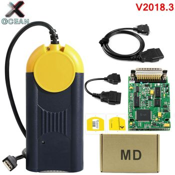 Newest Version V2018.3 Diagnostic tool actia Multi-Diag Multi Diag Access J2534 interface OBD2 Device Multidiag J2534 in stock