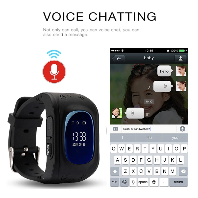 2019 New Smart Watch Kid Safe smart Watch SOS Call Second Generation Chip SOS Call Location Finder Gifts for Children in Smart Watches from Consumer Electronics