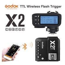 Godox X2T-C X2T-N X2T-S X2T-F X2T-O X2T-P TTL 1/8000s HSS Беспроводной трансмиттер триггер для вспышки для цифровой зеркальной камеры Canon Nikon Sony Penta Olympus