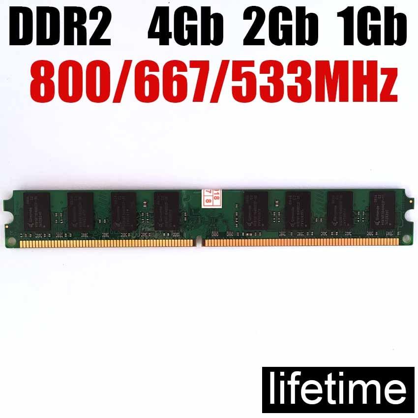 4Gb memoria ram ddr2 2Gb Intel/AMD DDR2 800 a 667 Mhz 1Gb 2Gb 4Gb ddr2 RAM-garantía de por vida-800Mhz 667 Mhz 533Mhz Kembona original chips marca PC de escritorio DDR2 1 GB/2 GB/4 GB 800 MHz/667 MHz/533 MHz DDR 2 DIMM-240-Pins escritorio memoria Ram