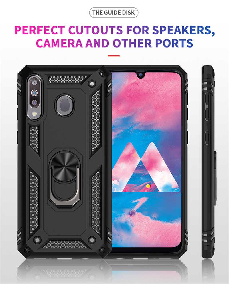 Per Samsung Galaxy S8 S9 S10 Nota 8 9 10 Più M10 M20 M30 Antiurto Cassa Dell'armatura Per A10 A20E a30 A40 A50 A70 Della Copertura Molle Del Silicone