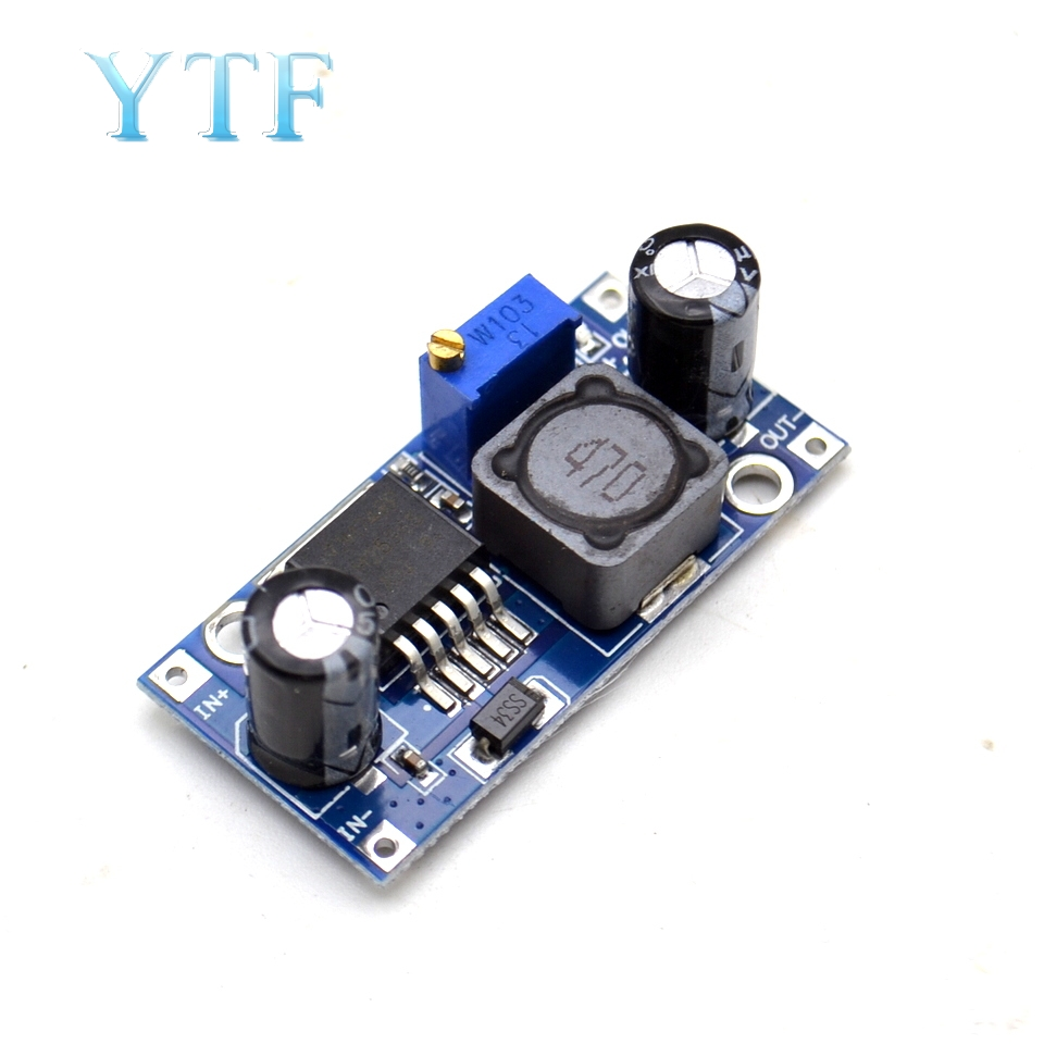 LM2596S-ADJ DC-DC Adjustable Step-Down Voltage Regulator Power Supply MODULE BOARD 3A Buck Converter
