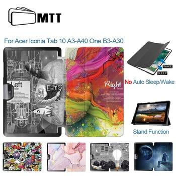 MTT-Funda protectora de cuero PU para tableta Acer Iconia Tab 10 A3-A40,...