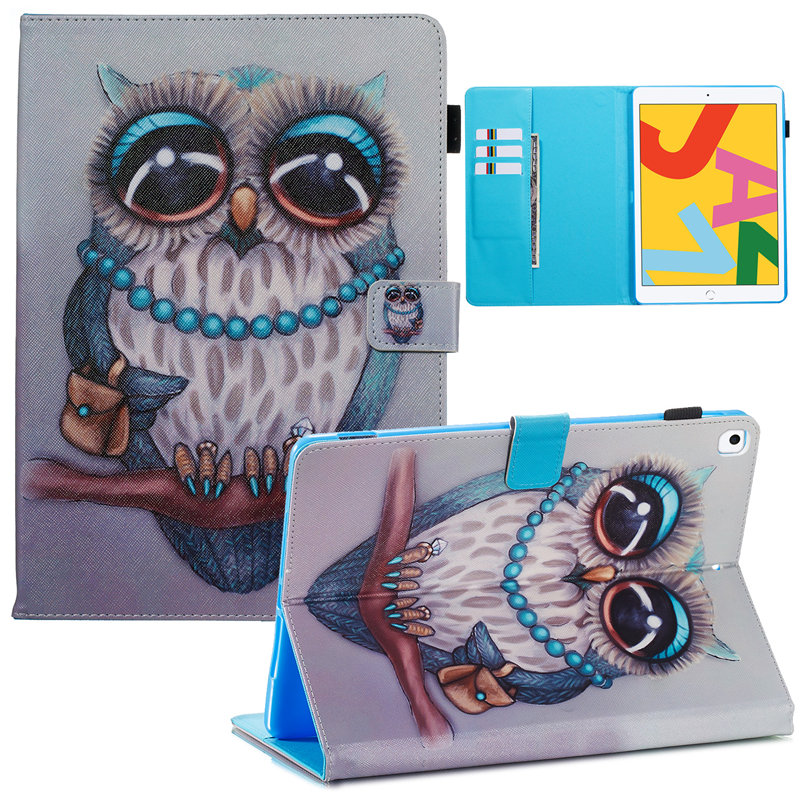 15 Clear For iPad 10 2 2019 Smart Case for Apple iPad 7th Generation A2200 A2232 Cover Funda