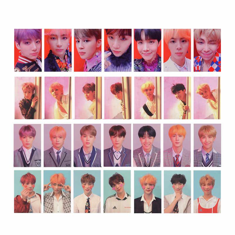 Youpop KPOP Album Photo Card Bangtan Boys Collection Photocard Self Made Paper Cards.jpg q50