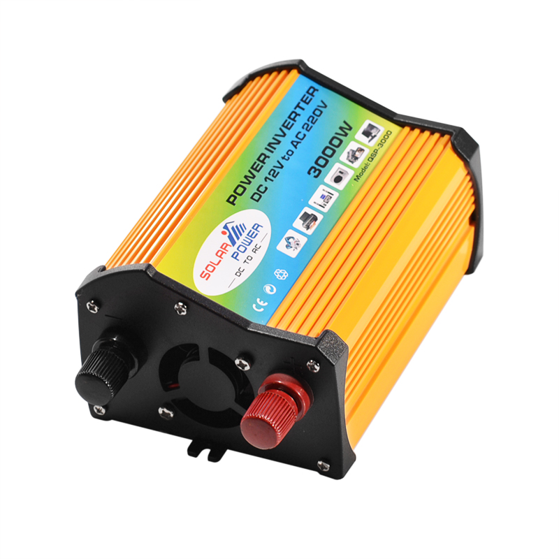 3000W Solar Inverter Converter with 2 USB Ports and AC Outlet for Home Appliances
