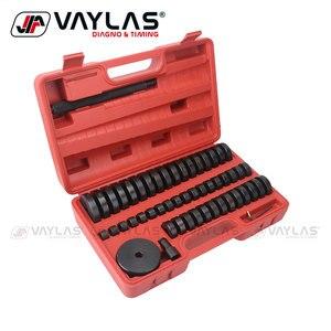 52 sztuk Automotive uszczelnienie olejowe narzędzie do usuwania łożyska s zestaw łożysko kulkowe narzędzie do usuwania zestaw wysokiej jakości Auto naprawa narzędzia z przypadku