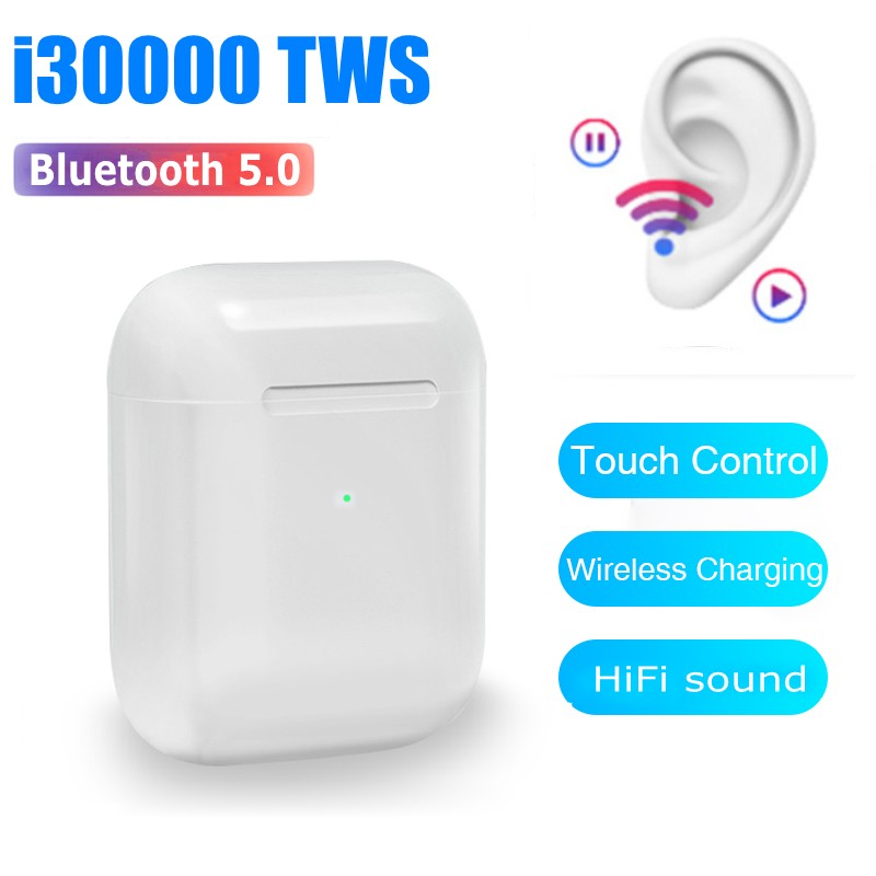 <font><b>Original</b></font> <font><b>i30000</b></font> <font><b>TWS</b></font> Smart Sensor Wireless Earphone 8D Super Bass headset pk w1 h1 chip pk i10 i20 i30 i100 i500 i9000 i10000 <font><b>tws</b></font> image