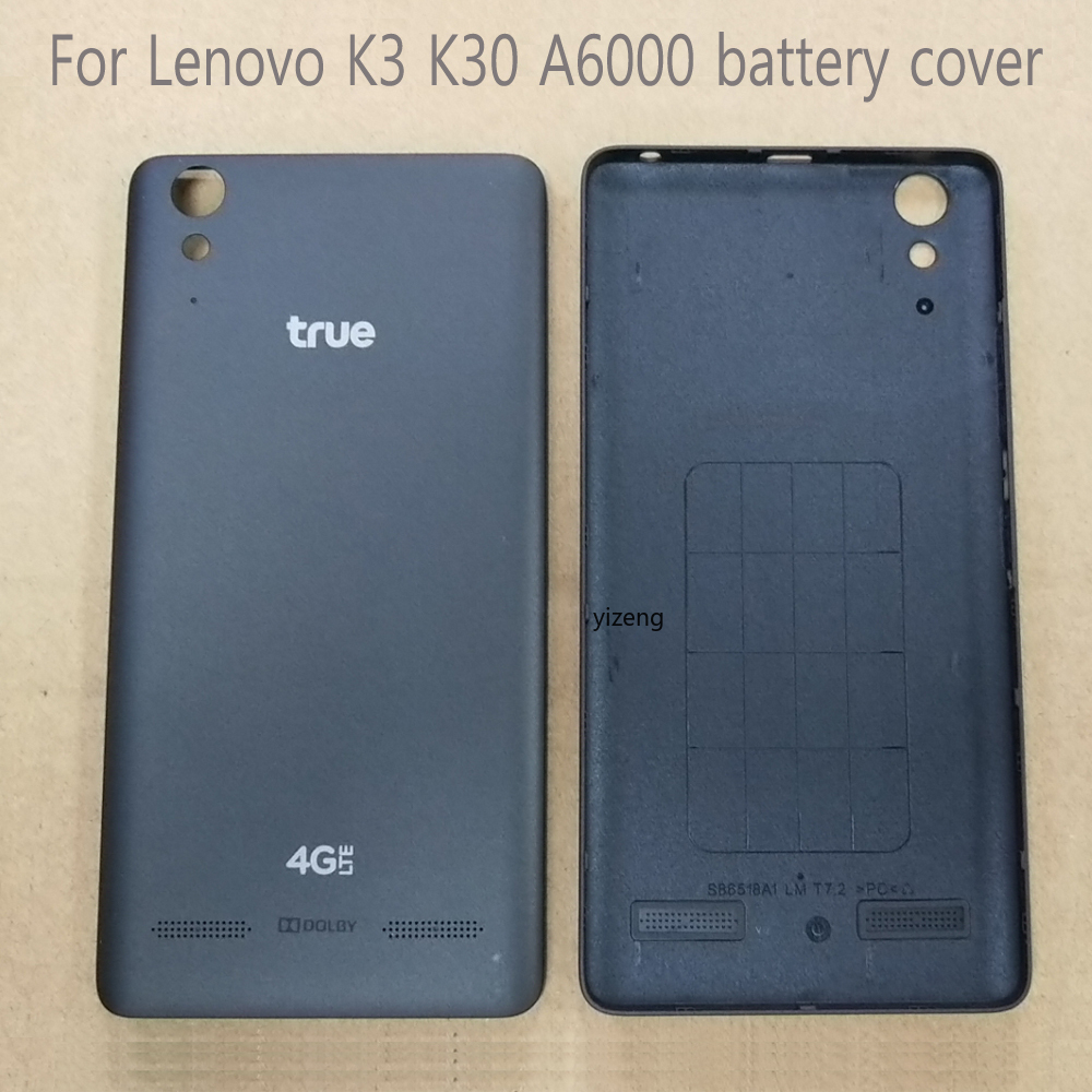 For <font><b>Lenovo</b></font> A6000 <font><b>Battery</b></font> <font><b>Cover</b></font> Official Original <font><b>Cover</b></font> For <font><b>Lenovo</b></font> <font><b>K3</b></font> K30 With Power Volume Buttons Housing Replacement Parts image