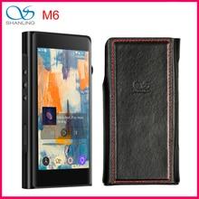 SHANLING M6 hi res Dual AK4495SEQ z otwartym systemem Android przenośny odtwarzacz DSD256 HiFi Bluetooth 3.5/2.5/4.4mm zbalansowane wyjście