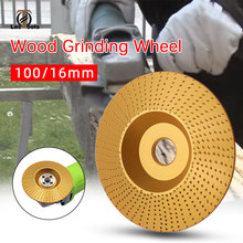 Wood Grinding Wheel angle grinder disc wood carving disc Sanding Abrasive tool flat/arc/inclined plane(China)