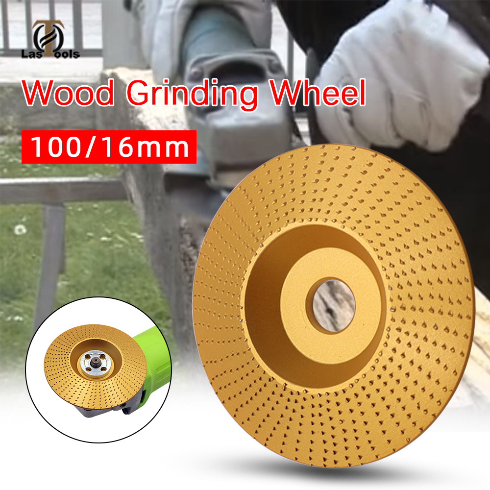 Wood Grinding Wheel Angle Grinder Disc Wood Carving Disc Sanding Abrasive Tool Flat/arc/inclined Plane