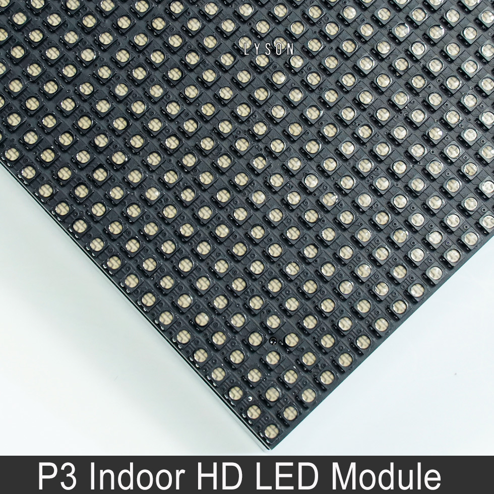 Image 5 - Indoor HD P3 SMD Full Color LED Display Module 64x64 Pixels 3 in 1 RGB 192*192mmp3 led moduleled display modulep3 smd -