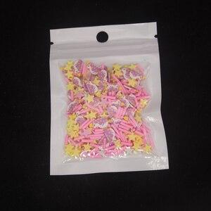 Разноцветные полимерные глиняные ломтики бусины-жемчужины из смолы посыпка для слипы из наполнение эпоксидной смолы DIY наполнитель на Рождество и Хеллоуин; Аксессуары
