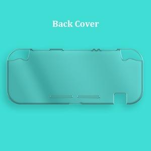 Image 5 - Étui en cristal PC rigide pour interrupteur, étui à couverture transparente pour interrupteur Nintendo Mini écran en verre trempé NS