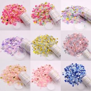 Image 5 - 1 ชุด PUSH POP สีชมพู Confetti Poppers สำหรับงานแต่งงานวันเกิดดอกไม้กระดาษรอบ Confetti DOTS PARTY ตกแต่ง