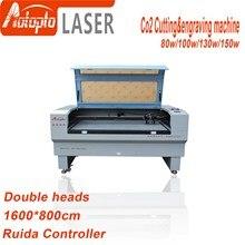 цена на 80W 100W 130W 150w  1680 Co2 Laser engraver laser engraving cutting machine laser cutter engraver acrylic leather MDF
