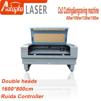 цена на 80W 100W 130W 150w  1680 Co2 Laser engraver laser engraving cutting machine laser cutter engraver acrylic leather MDF